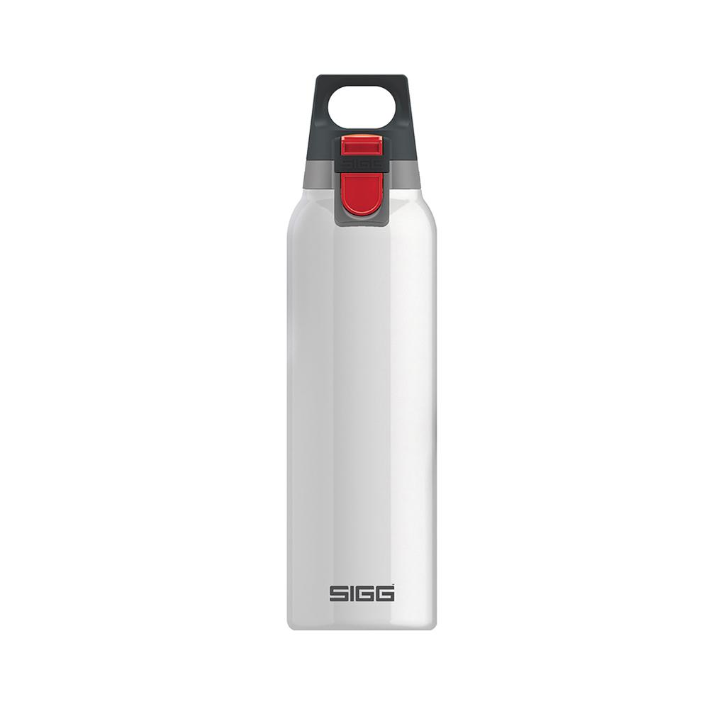 瑞士百年SIGG   H&C彈蓋不銹鋼保溫瓶 500ml - 純雪