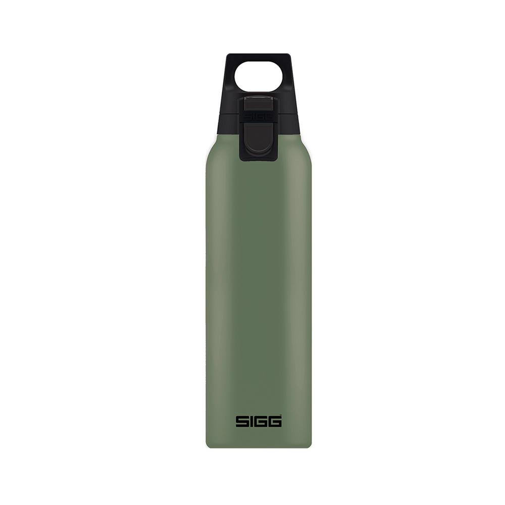 瑞士百年SIGG | H&C彈蓋不銹鋼保溫瓶 500ml - 抹茶綠