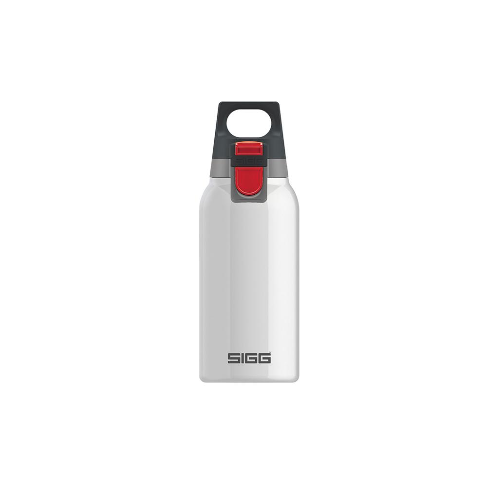 瑞士百年SIGG | H&C彈蓋不銹鋼保溫瓶 300ml - 純雪
