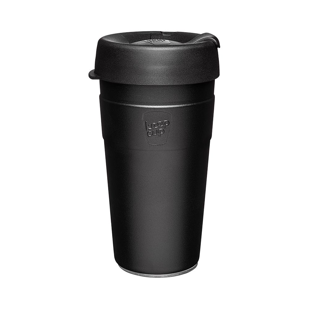 澳洲 KeepCup|雙層真空隨身杯 L - 魅力黑