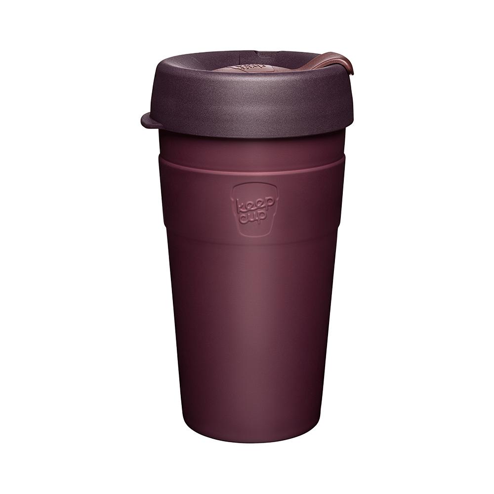 澳洲 KeepCup|雙層真空隨身杯 L - 甜酒紅