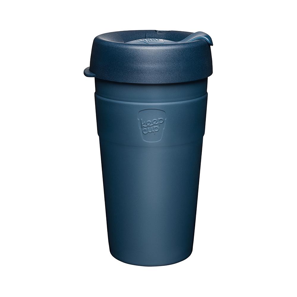 澳洲 KeepCup|雙層真空隨身杯 L - 優雅藍
