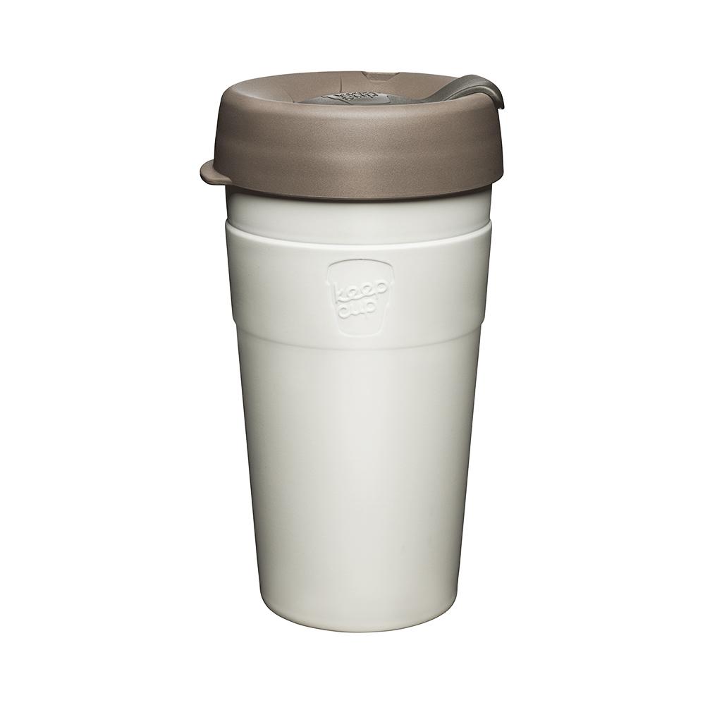 澳洲 KeepCup|雙層真空隨身杯 L - 奶油絲絨