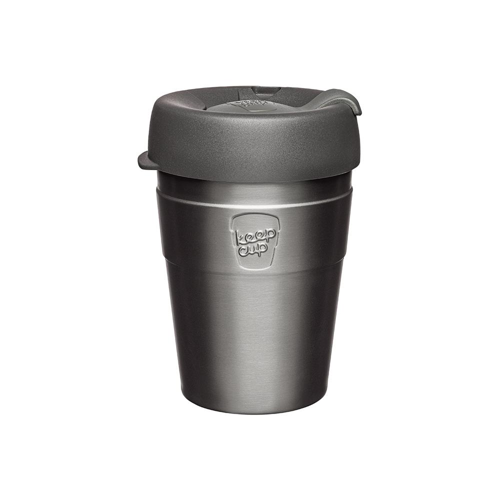 澳洲 KeepCup 雙層真空隨身杯 M - 鎧甲銀