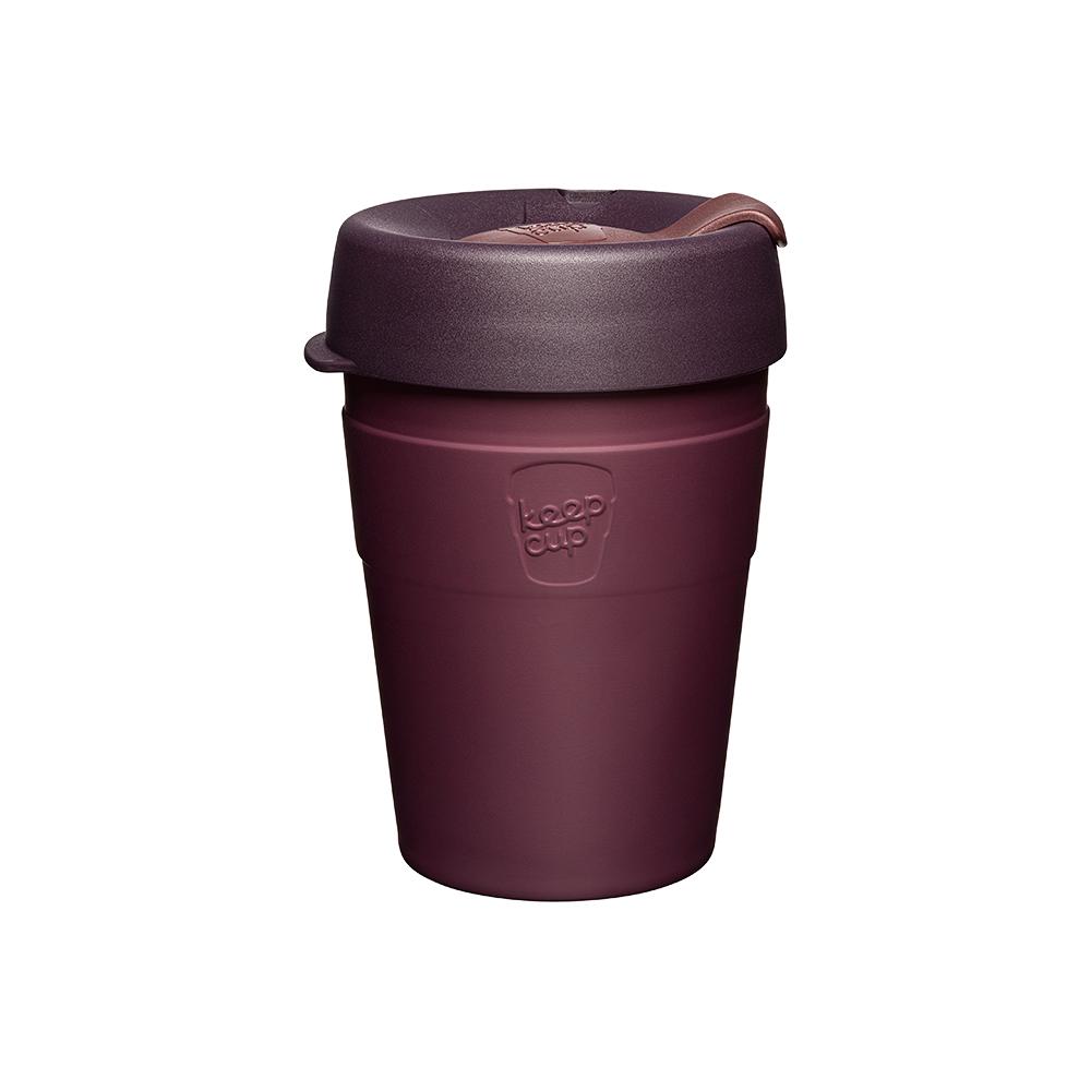 澳洲 KeepCup|雙層真空隨身杯 M - 甜酒紅