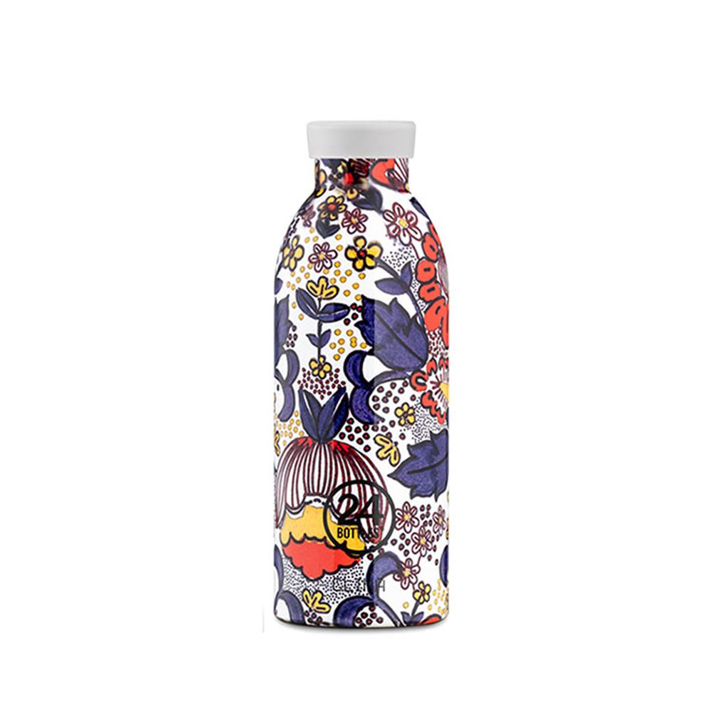義大利 24Bottles|不鏽鋼雙層保溫瓶 500ml (附濾茶器) - 大吉嶺