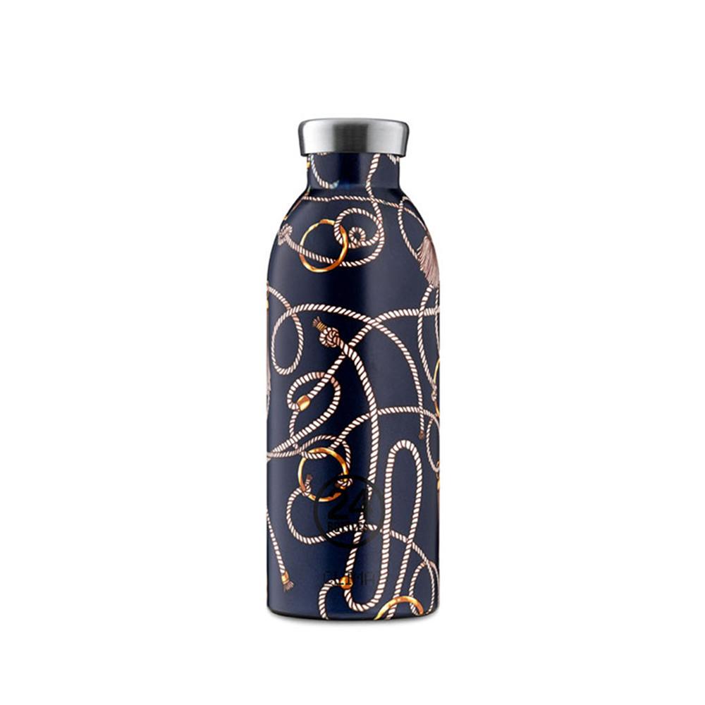 義大利 24Bottles|不鏽鋼雙層保溫瓶 500ml - 皇家