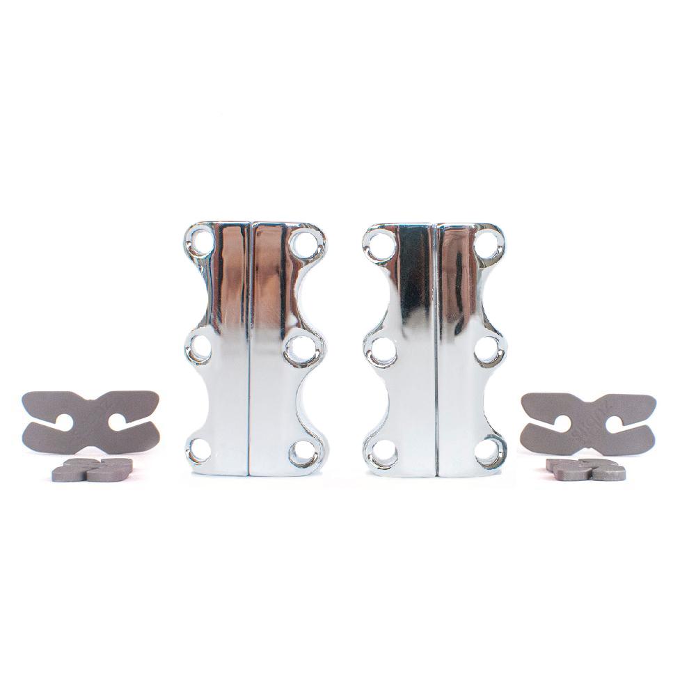 美國 Zubits|強磁鞋帶扣 2 號 - 鉻銀