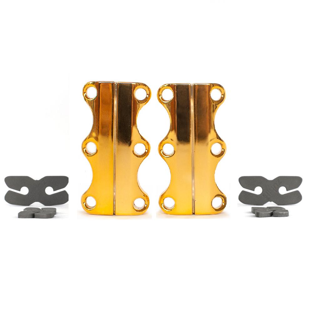美國 Zubits 強磁鞋帶扣 3 號 - 金色