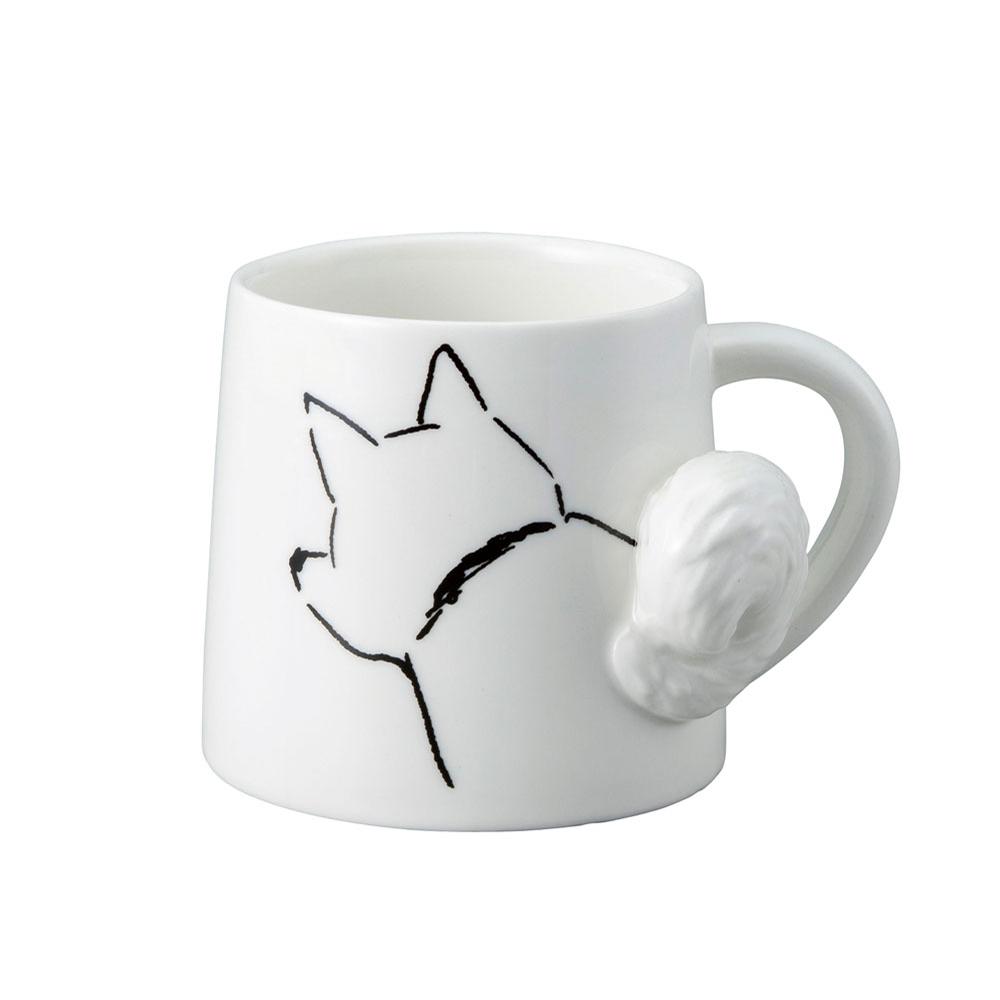 日本 sunart   馬克杯 - 搖尾犬