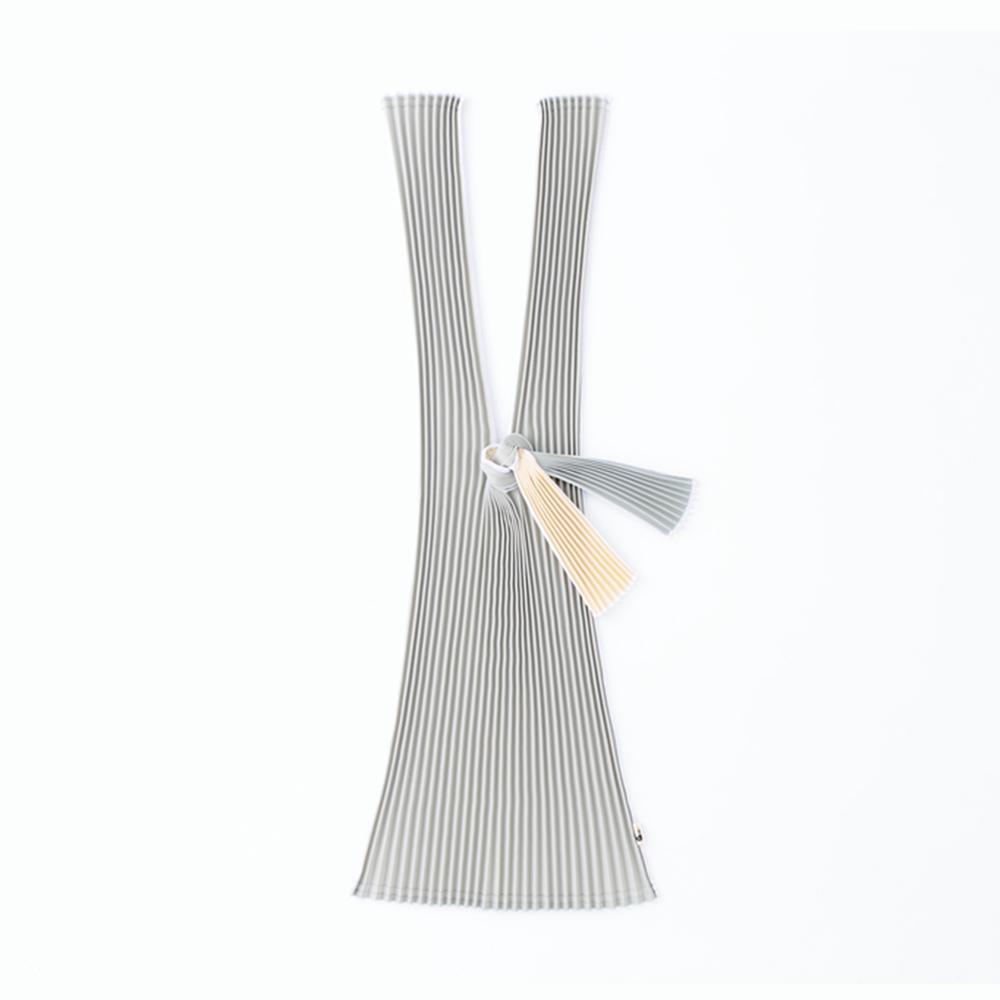 日本 PLECO|百摺包 L - 銀鼠