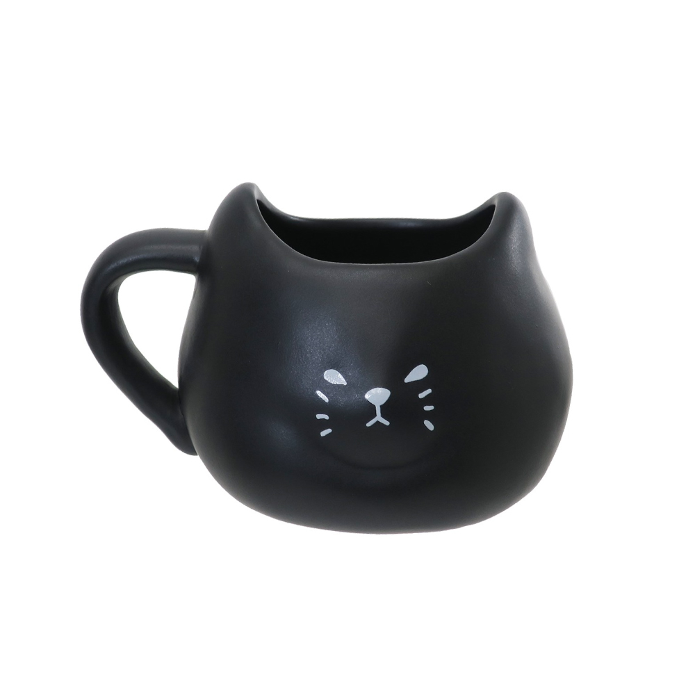 日本 sunart   馬克杯 - 厭世黑貓