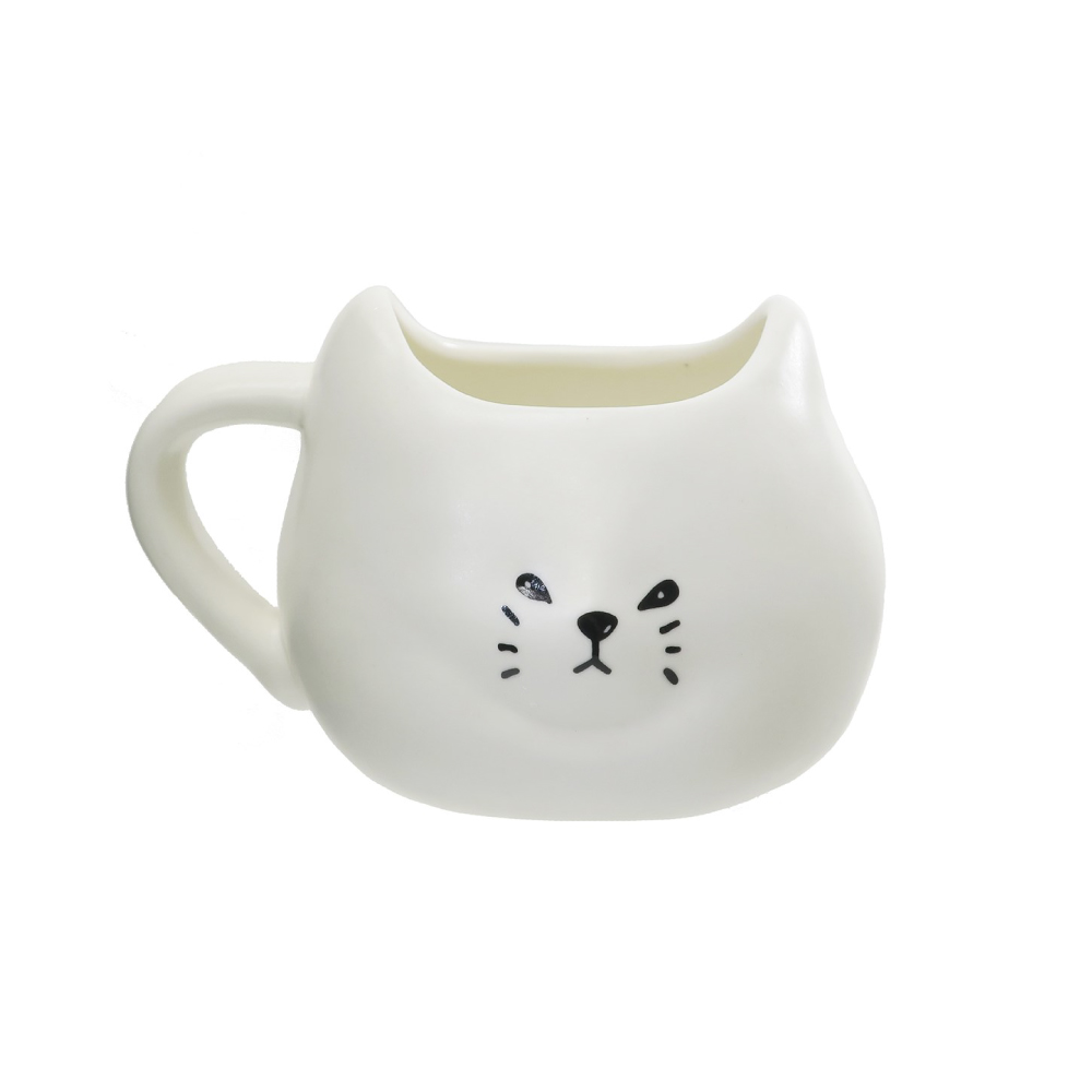 日本 sunart | 馬克杯 - 厭世白貓