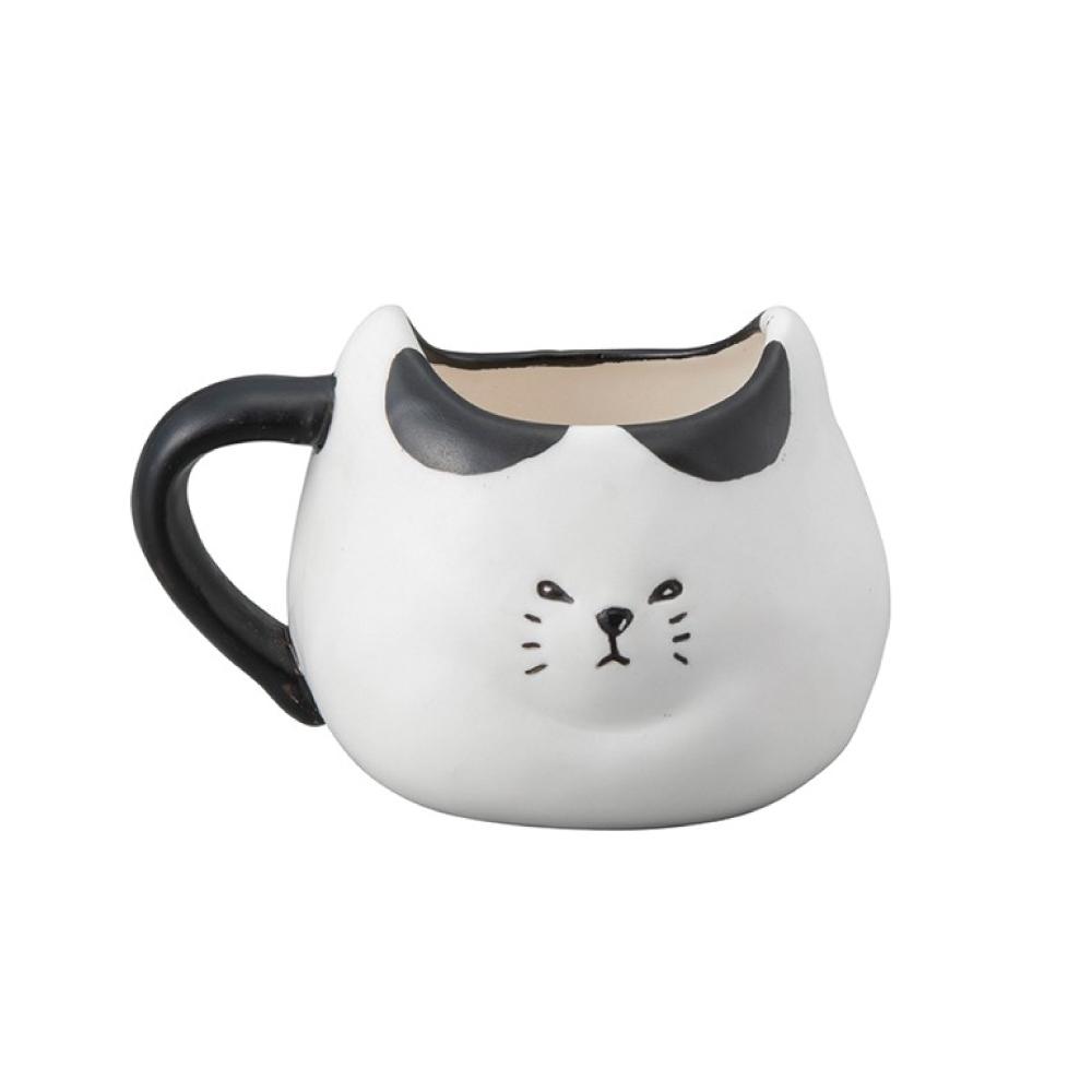 日本 sunart | 馬克杯 - 厭世黑白貓