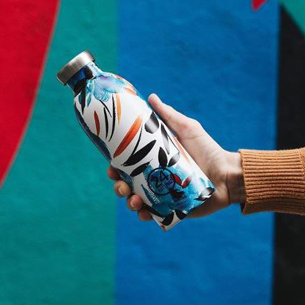 義大利 24Bottles|不鏽鋼雙層保溫瓶 500ml - 純粹幸福