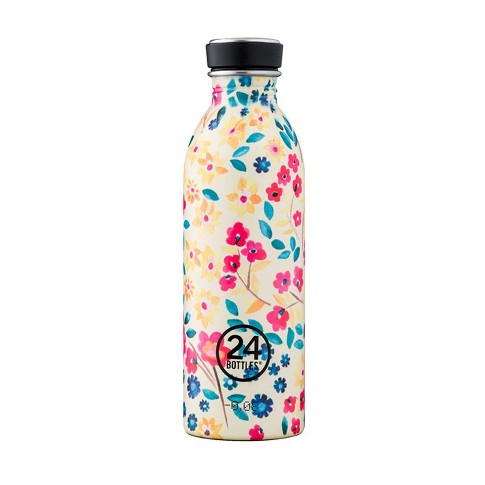 義大利 24Bottles|輕量冷水瓶 500ml - 花意盎然