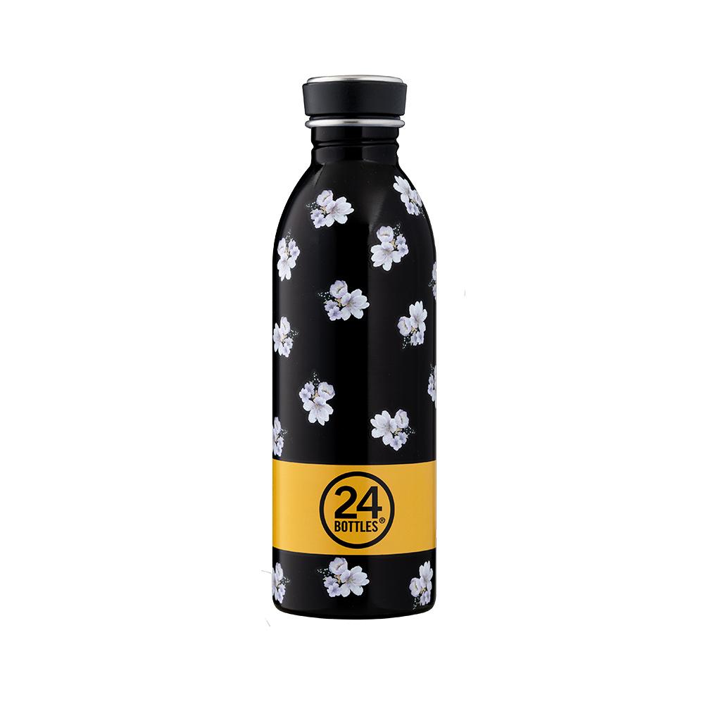義大利 24Bottles 輕量冷水瓶 500ml - 錦帶花