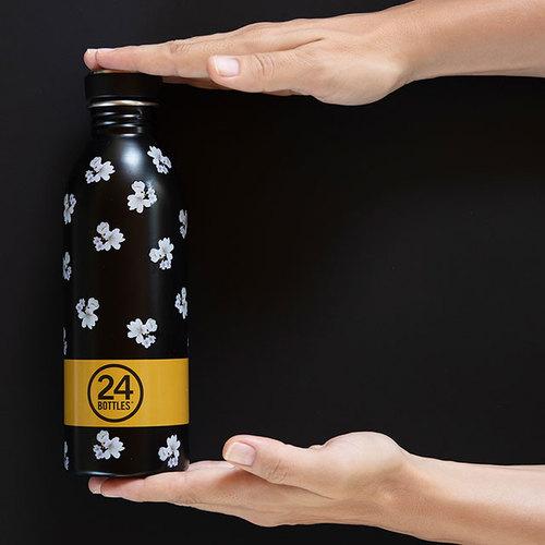 義大利 24Bottles|輕量冷水瓶 500ml - 錦帶花