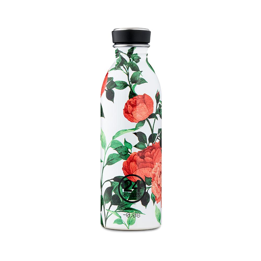 義大利 24Bottles|輕量冷水瓶 500ml - 牡丹