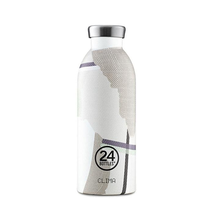 (複製)義大利 24Bottles|不鏽鋼雙層保溫瓶 500ml - 淡雅藕