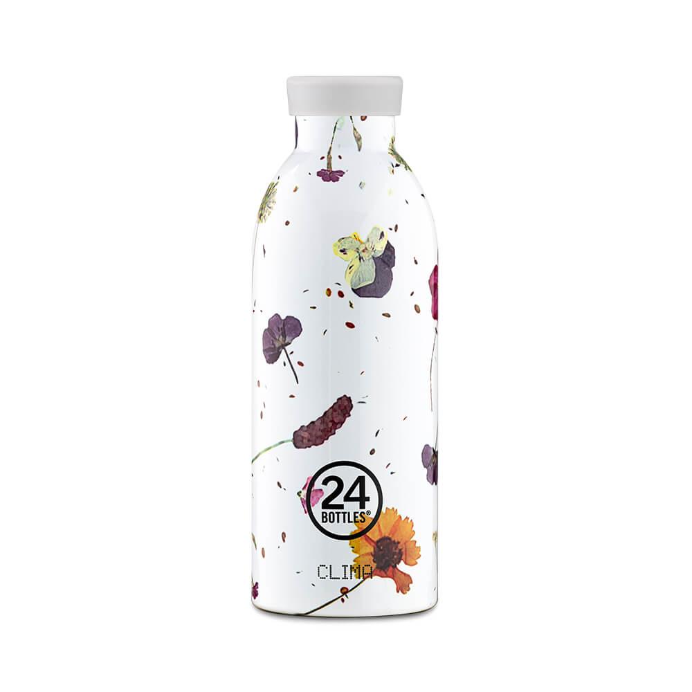 義大利 24Bottles 不鏽鋼雙層保溫瓶 500ml (附濾茶器) - 春塵