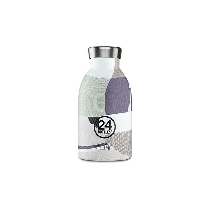 (複製)義大利 24Bottles|不鏽鋼雙層保溫瓶 500ml (附濾茶器) - 雲彩