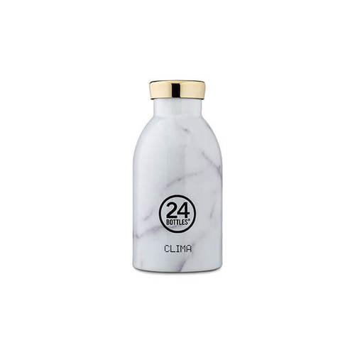 義大利 24Bottles|不鏽鋼雙層保溫瓶 330ml - 義大利大理石