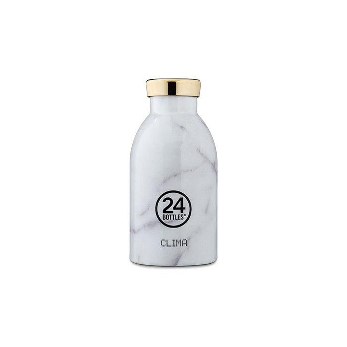 (複製)(複製)義大利 24Bottles|不鏽鋼雙層保溫瓶 330ml - 點翠菊