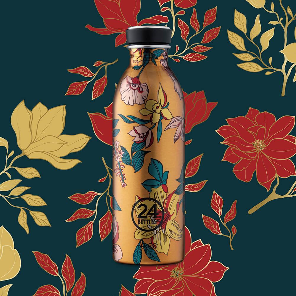 義大利 24Bottles 輕量冷水瓶 500ml - 鎏金歲月