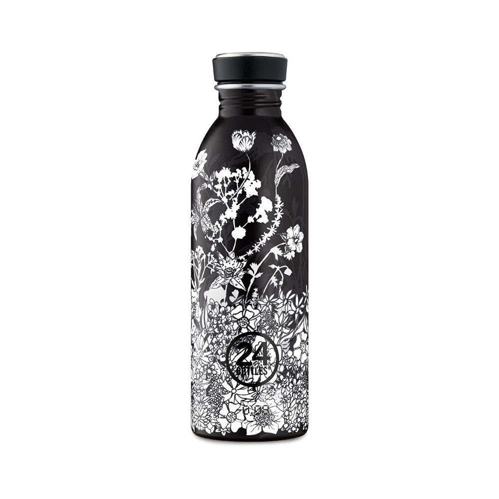 義大利 24Bottles|輕量冷水瓶 500ml - 黑色電影