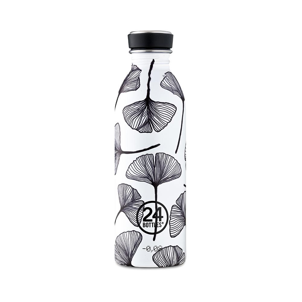 義大利 24Bottles|輕量冷水瓶 500ml - 葉拓