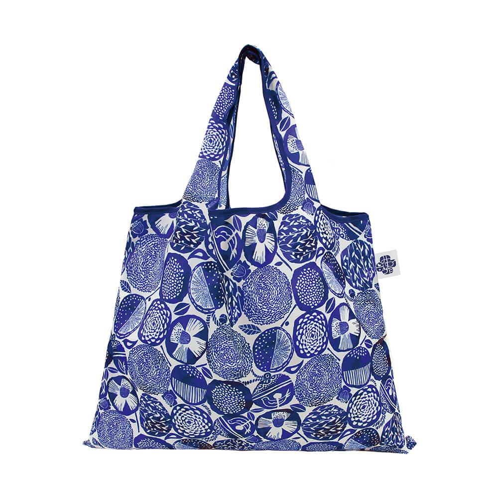日本 Prairie Dog 設計包 - 藍色大麗花