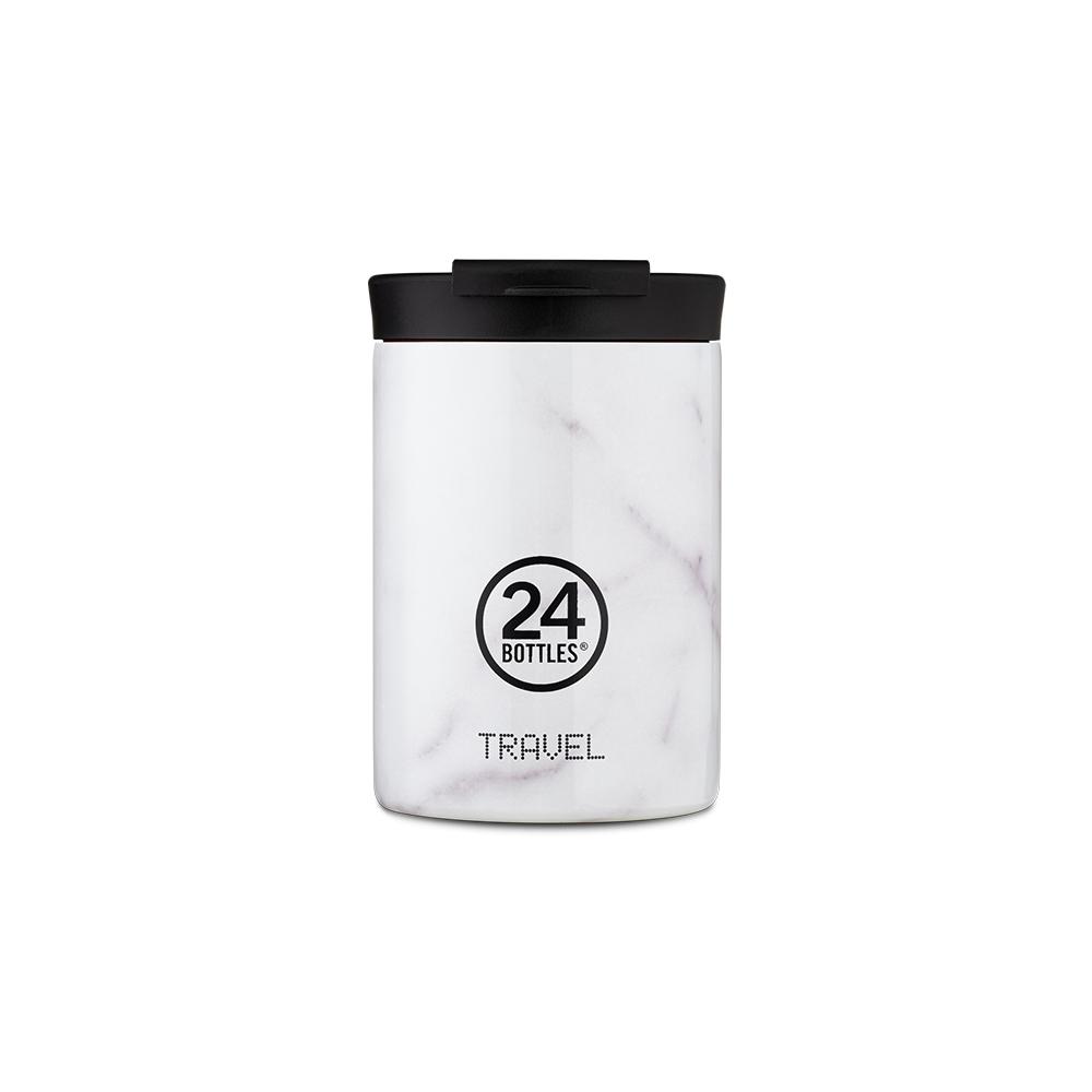 義大利24Bottles 保溫隨行杯 350ml - 義大利大理石