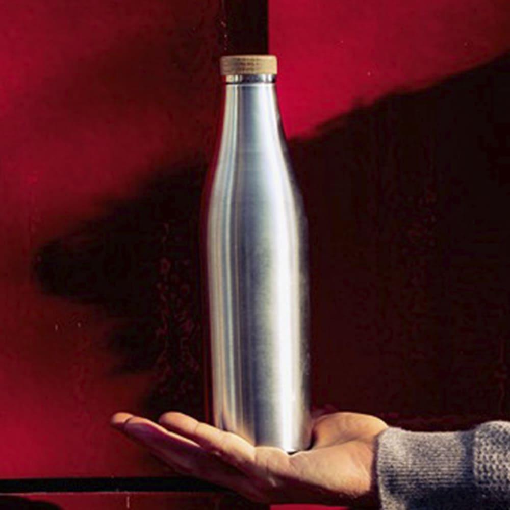 瑞士百年 SIGG 纖體竹蓋保溫瓶 500ml - 霧銀