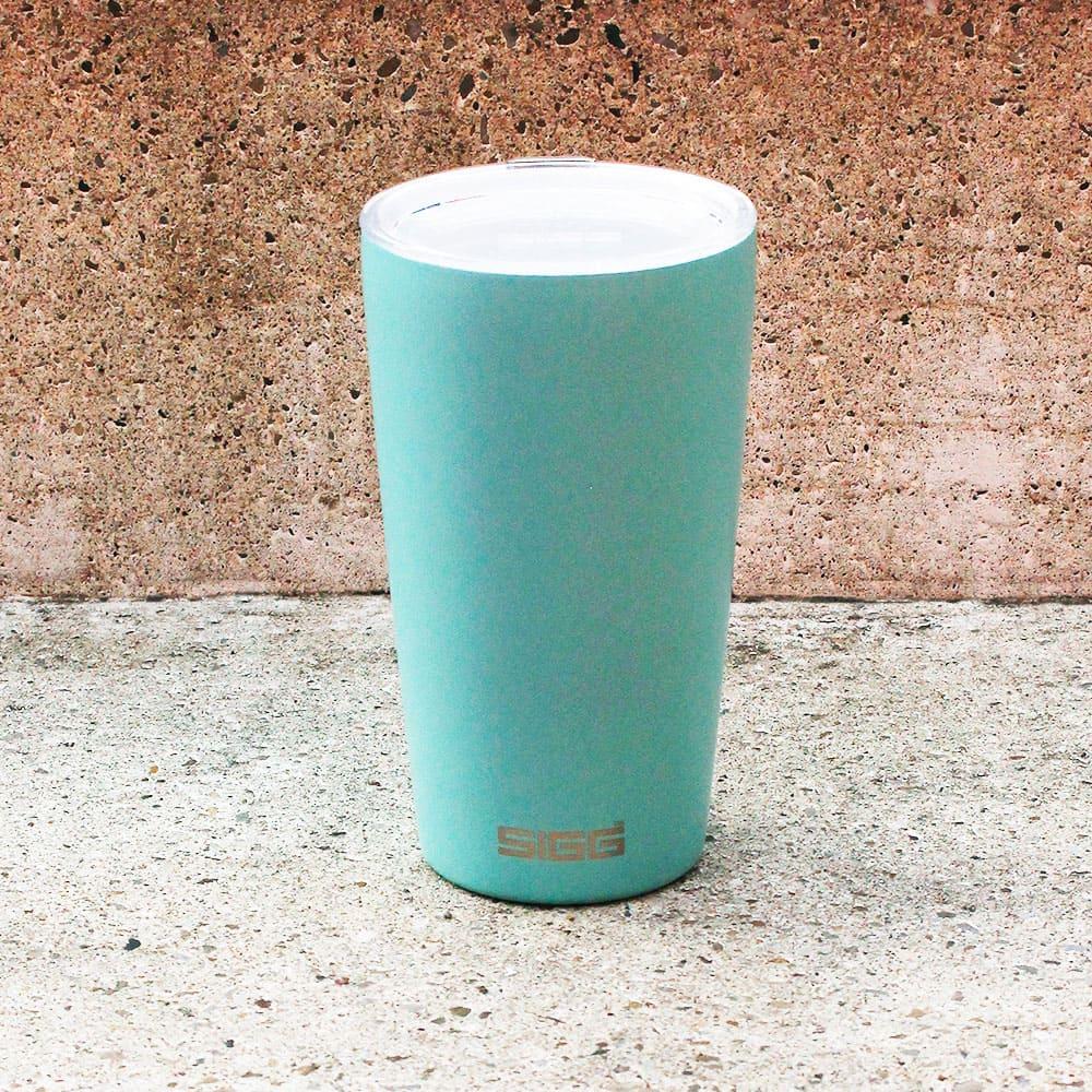 瑞士百年 SIGG|Neso 陶瓷隔熱隨行杯 400ml - 冰河