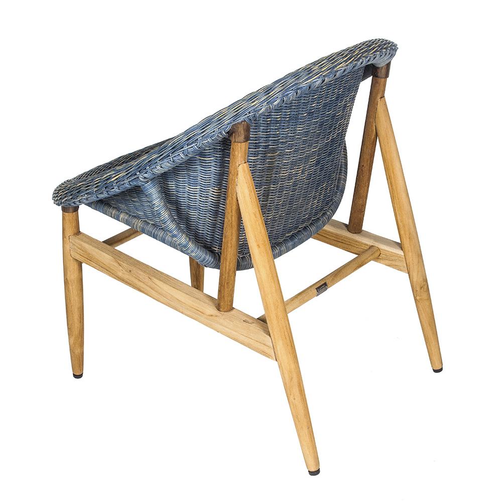7OCEANS DESIGNS|NEST CHAIR 鳥巢單人椅 (Swan lake 復古湖水藍)