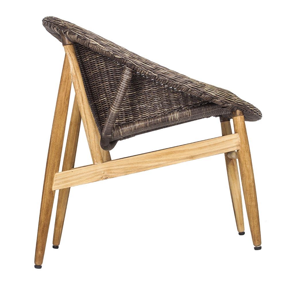 7OCEANS DESIGNS|NEST CHAIR 鳥巢單人椅 (Antique wood 復古舊木色)