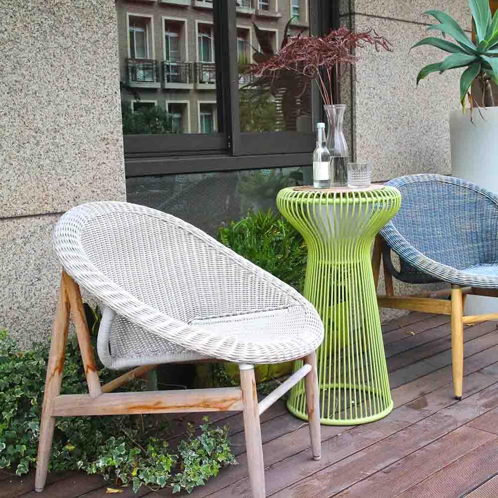 7OCEANS DESIGNS|NEST CHAIR 鳥巢單人椅 (Vanilla 復古香草色)
