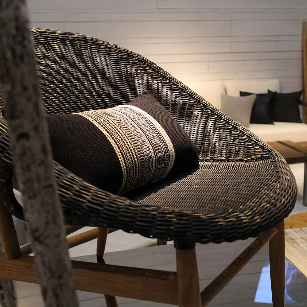 7OCEANS DESIGNS|NEST CHAIR 鳥巢單人椅 (Charcoal 復古炭黑)