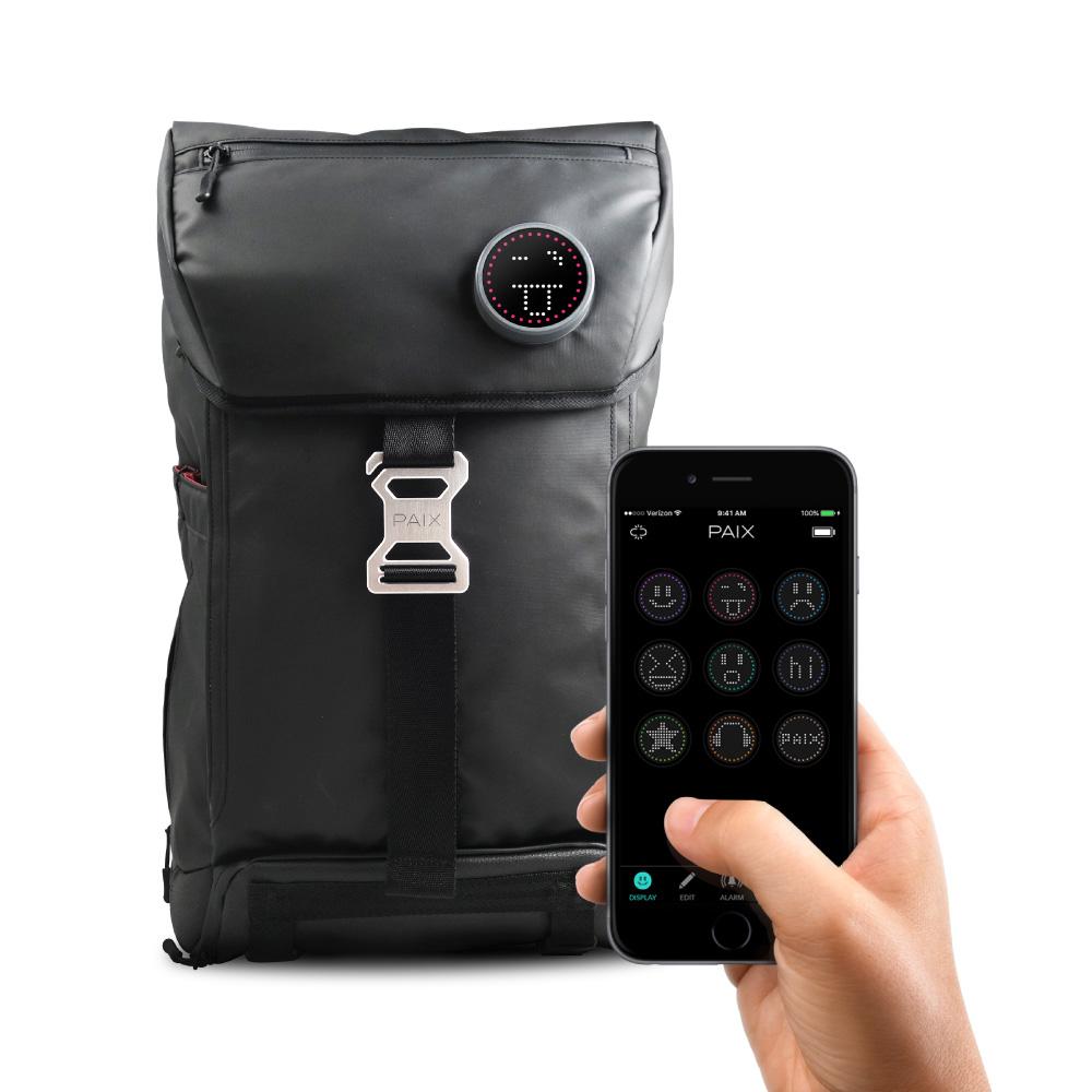 PAIX|BackPAIX背包 (黑) 含智慧徽章 - 30L