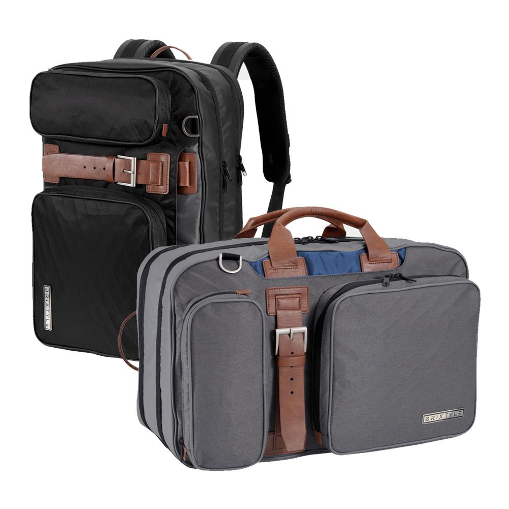 【入倉品】Brixtyle 手提/後背/單肩多用途旅行包