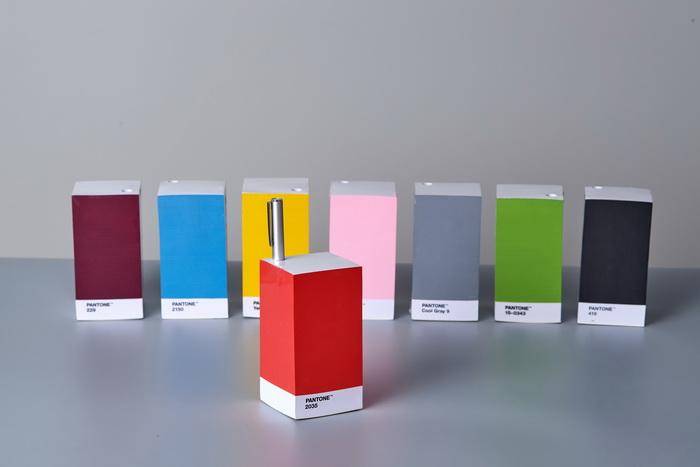 Room Copenhagen|Pantone 便條紙(2017 年度色草木綠)