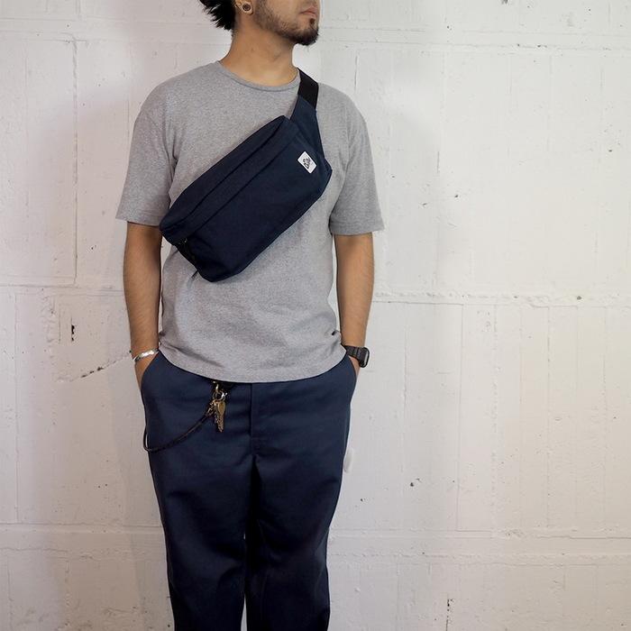 Drifter|大型兩用單肩包 (純然黑)