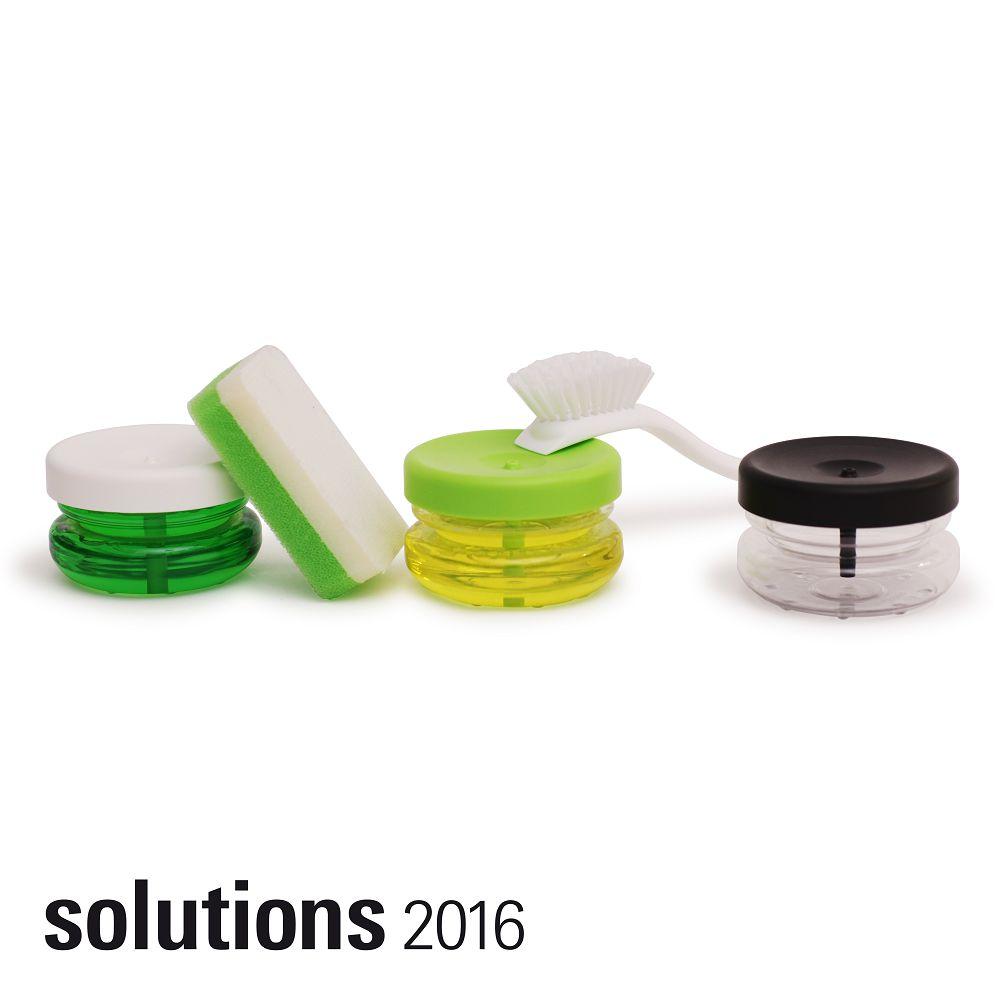 BOSIGN Stockholm|輕巧環保給皂罐(萊姆綠)