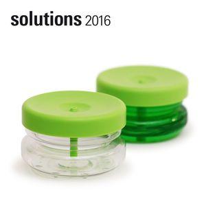 BOSIGN Stockholm 輕巧環保給皂罐(萊姆綠)