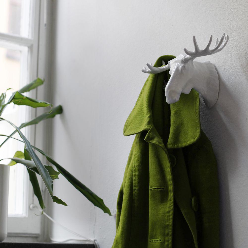 BOSIGN Stockholm|馴鹿衣帽架(白)