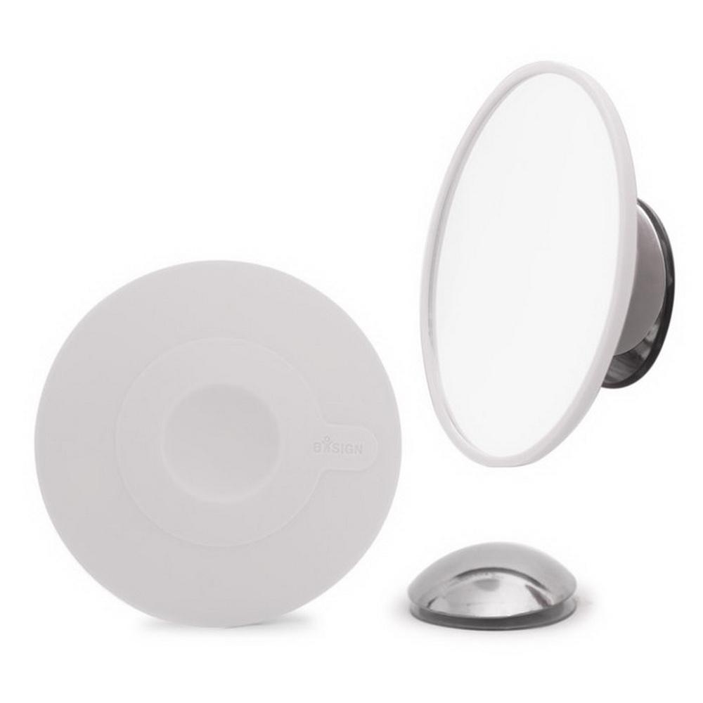 BOSIGN Stockholm|無放大倍率拆卸式化妝鏡(經典灰)