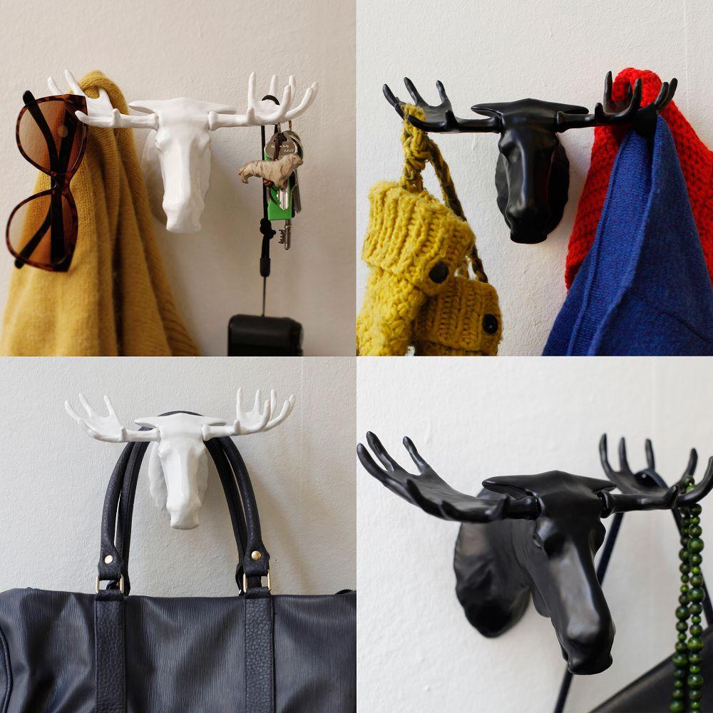 BOSIGN Stockholm|馴鹿衣帽架(黑)