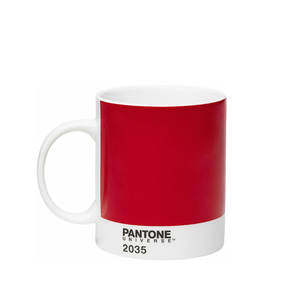 Room Copenhagen|Pantone 色票馬克杯(烈焰紅)