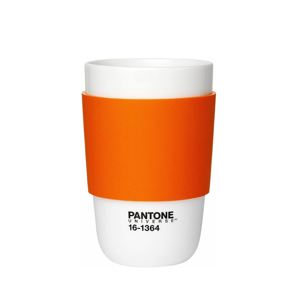 Room Copenhagen|Pantone 矽膠隔熱杯(甜橙橘)